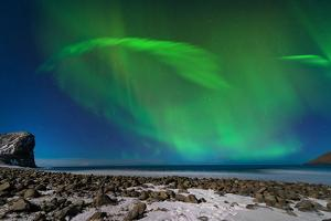 Aurora Borealis in Norway 1 by Philippe Sainte-Laudy
