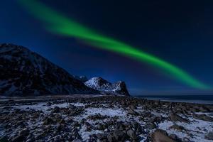 Aurora Borelis in Norway 4 by Philippe Sainte-Laudy