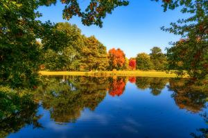 Autumn is Reflected by Philippe Sainte-Laudy