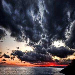 Black Ink Sky II by Philippe Sainte-Laudy