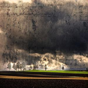 Black Ink Sky by Philippe Sainte-Laudy