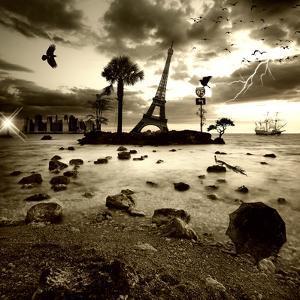 Eiffel Nightmare by Philippe Sainte-Laudy