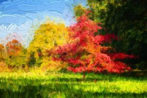 Fall in Painting by Philippe Sainte-Laudy