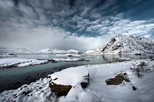 Go Ahead in the Snow by Philippe Sainte-Laudy