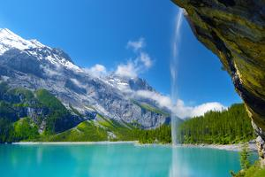 Oeschinensee by Philippe Sainte-Laudy