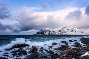 On a Cold Winter'S Day in Norway by Philippe Sainte-Laudy