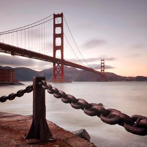 Vintage Golden Gate by Philippe Sainte-Laudy Photography