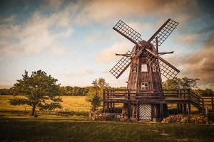 Saare County Windmill by Philippe Sainte-Laudy