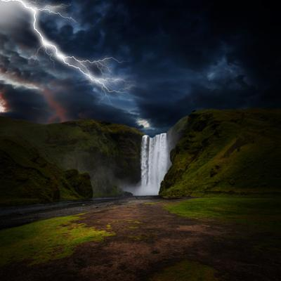 Skógafoss - Iceland by Philippe Sainte-Laudy