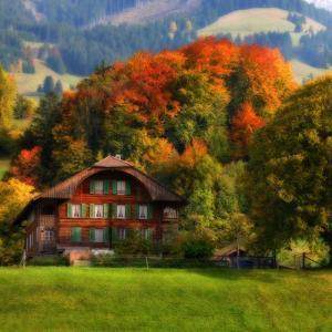 Swiss Chalet by Philippe Sainte-Laudy