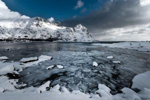 The Edge of the World Is in Lofoten by Philippe Sainte-Laudy