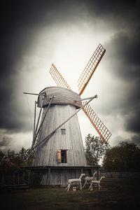 The Old Windmills by Philippe Sainte-Laudy