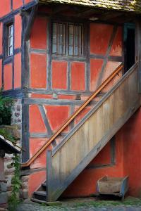 The Stairs of the Red House by Philippe Sainte-Laudy