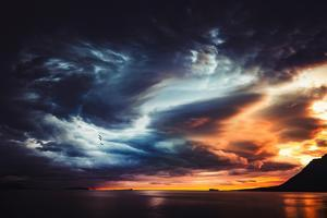 Trouble in the Sky by Philippe Sainte-Laudy