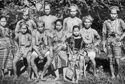 Philippine Islanders in Fete-Day Costume, 1926--Giclee Print