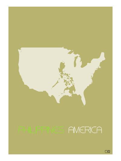 Philippines America-NaxArt-Art Print