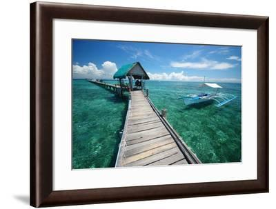 Philippines Sea- mrmichaelangelo-Framed Photographic Print