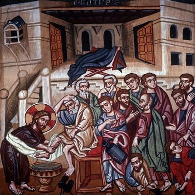 Jesus Washing the Disciples' Feet, 1494