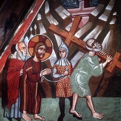 Simon Carrying the Cross, 1494