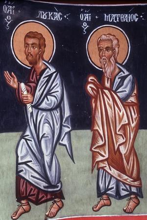 St Luke and St Matthew, 1494