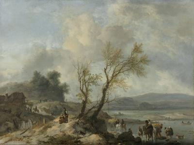 Landscape with a Sandy Path, Philips Wouwerman