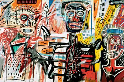 Philistines, 1982 Giclee Print by Jean,Michel Basquiat
