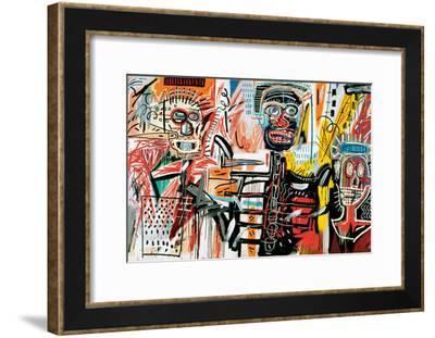 Philistines, 1982-Jean-Michel Basquiat-Framed Giclee Print