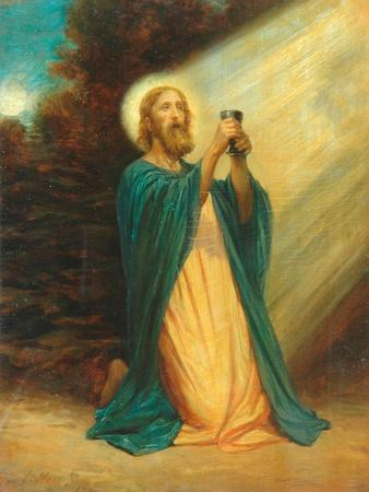 Christ In The Garden Of Gethsemane, 1889