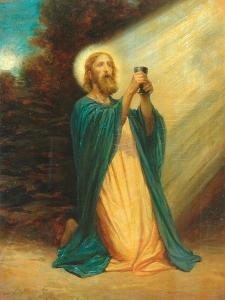 Christ In The Garden Of Gethsemane, 1889 by Phillip Richard Morris
