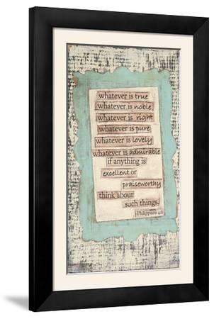 Phillippians-Cassandra Cushman-Framed Photographic Print