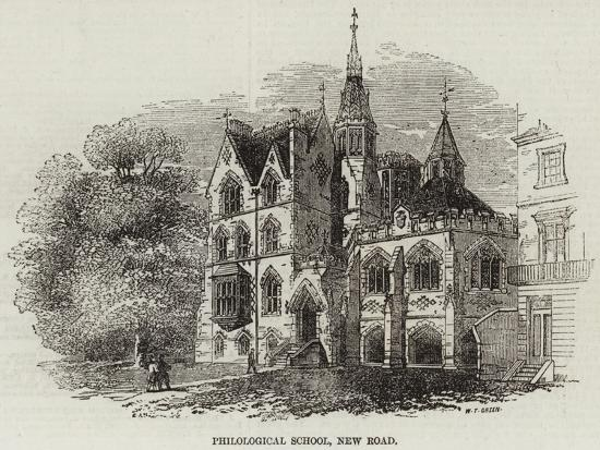 Philological School, New Road--Giclee Print
