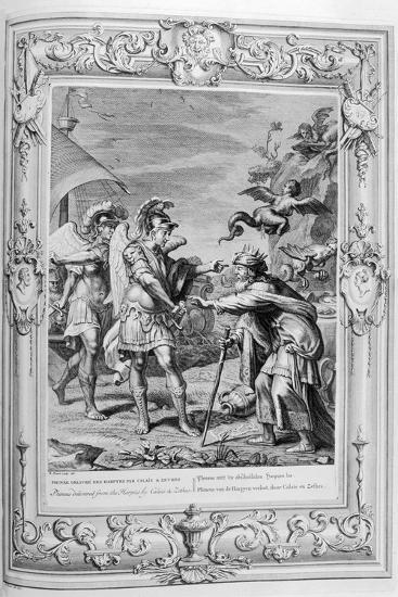 Phineus Is Delivered from the Harpies by Calais and Zethes, 1733-Bernard Picart-Giclee Print