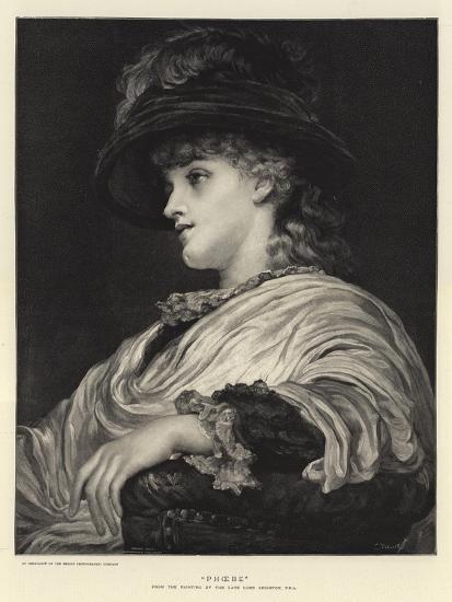 Phoebe-Frederic Leighton-Giclee Print