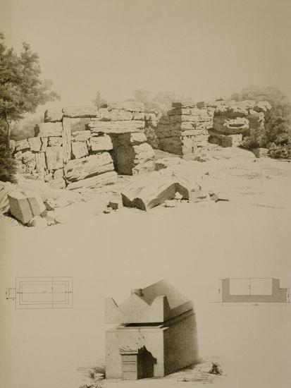 Phoenician Houses and Tombs Near Oum-El-Aouamid--Giclee Print
