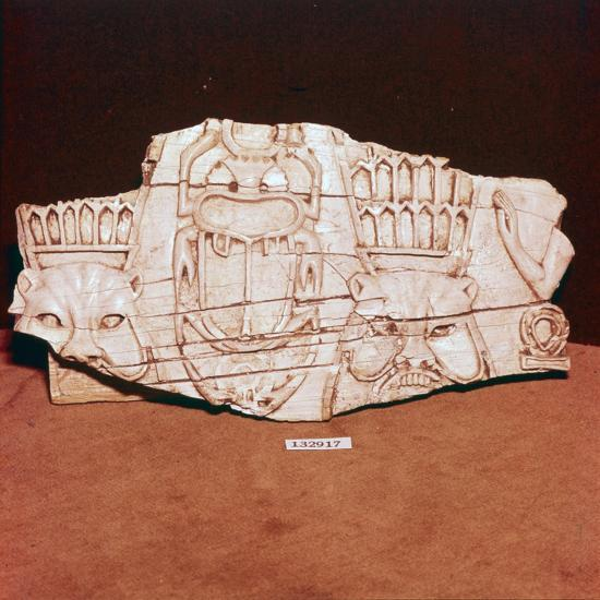 Phoenician Ivory, from a piece of furniture, probably made for export to Egypt, c8th century BC-Unknown-Giclee Print