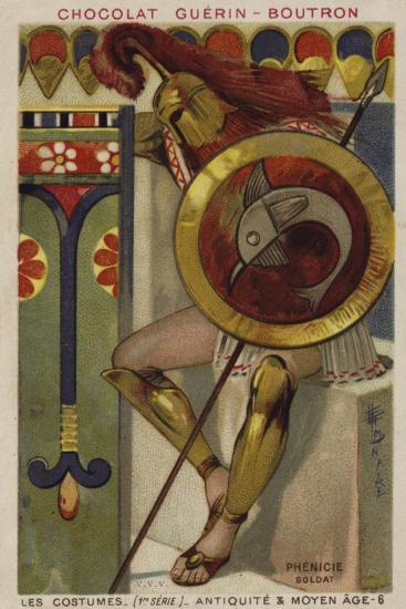 Phoenician Soldier--Giclee Print