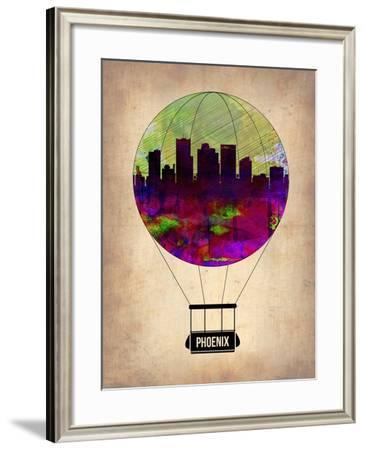 Phoenix Air Balloon-NaxArt-Framed Art Print