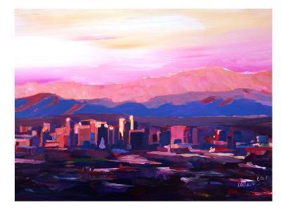Phoenix Arizona Skyline2-M Bleichner-Art Print