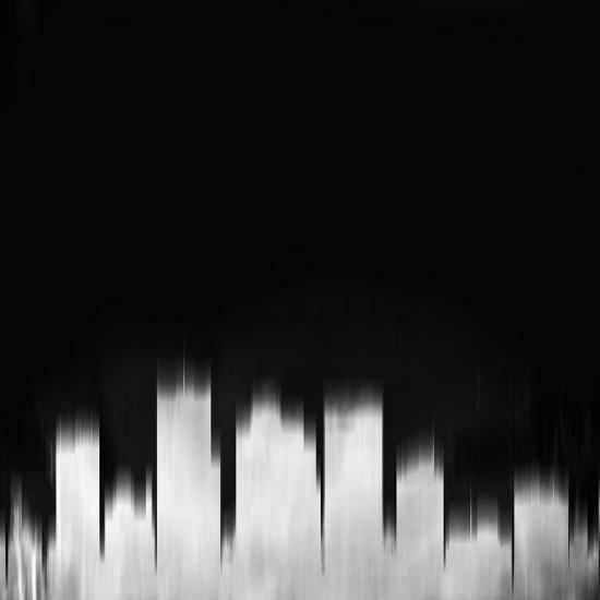 Phoenix City Skyline - White-NaxArt-Art Print