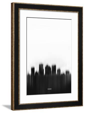Phoenix Downtown-NaxArt-Framed Art Print