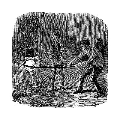 Phoenix Iron and Bridge Works, Phoenixville, Pennsylvania, 1873--Giclee Print