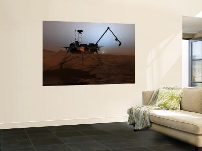 Phoenix Mars Lander--Wall Mural