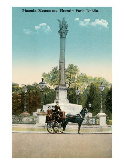 Phoenix Monument, Dublin, Ireland--Art Print
