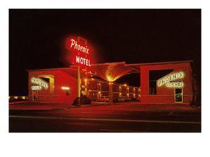 Phoenix Motel at Night