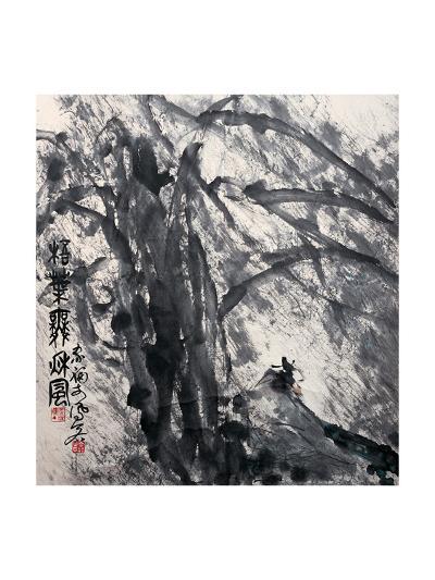 Phoenix Tree in the Wind-Deng Jiafu-Giclee Print