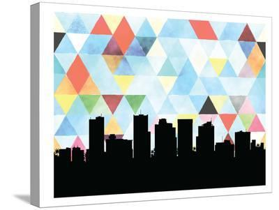 Phoenix Triangle-Paperfinch 0-Stretched Canvas Print