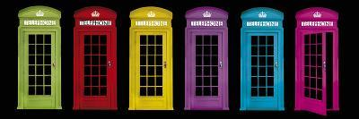 Phone Boxes-Tom Frazier-Giclee Print
