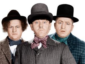 Phony Express, Larry Fine, Moe Howard, Curly Howard, (aka The Three Stooges), 1943