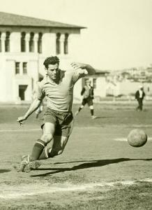 Swiss Ac Rovers Soccer Player Poster by Photo Archive Underwood