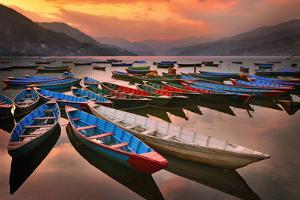 Phewa Lake, Nepal by Photo by JKboy Jatenipat